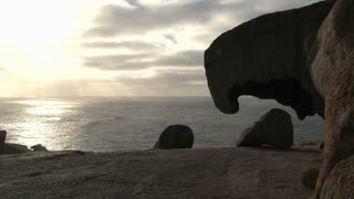 Remarkable Rocks at the Kangaroo Island, Australia