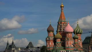 Saint Basil's Cathedral time lapse
