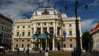 Slovak National Theatre in Bratislava Slovakia