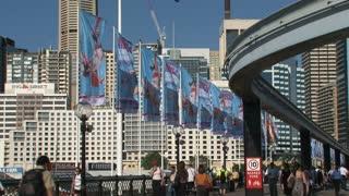 Sydney skytrain downtown 2010