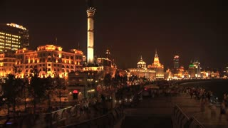 The Bund time lapse, Shanghai