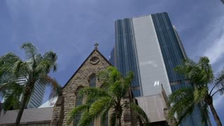 The Cathedral of St Stephen downtown Brisbane