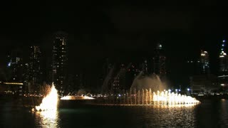The Dubai fountain with light and sound, Dubai