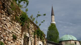 The gazi husrev-beg mosque in Sarajevo Bosnia and Herzegovina