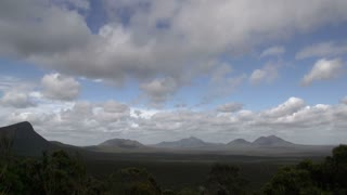 The Stirling Range landscape time lapse, Western Australia
