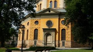 Tilt from Hedvig Eleonora Church in Stockholm Sweden