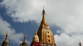 Tilt from the Ananda Temple in Bagan, Myanmar, Burma