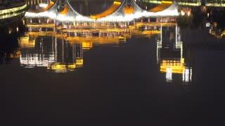 Tilt from the Anshun Bridge at night