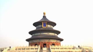 Tilt from the Temple of Heaven in Beijing