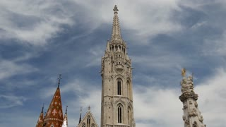 Time lapse from the Matthias Church in Budapest Hungary