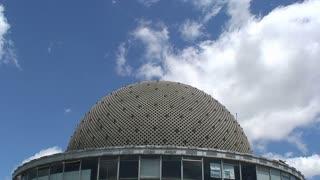 Time lapse Galileo Galilei planetarium, Buenos Aires, Argentina