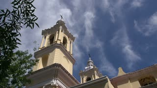 Tower from the Bas�lica de Nuestra Se_ora de La Merced in Cordoba, Argentina