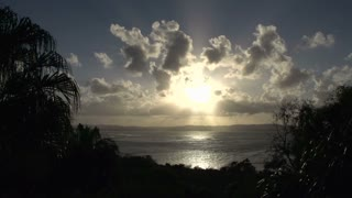 Town 1770 sunset time lapse Australia