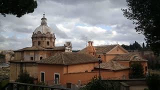 Santi Luca e Martina church in Rome Italy