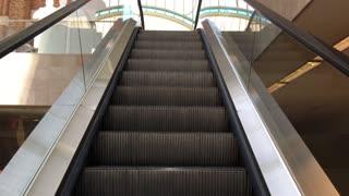 View from a escalator in the Mercado de Colon Valencia Spain