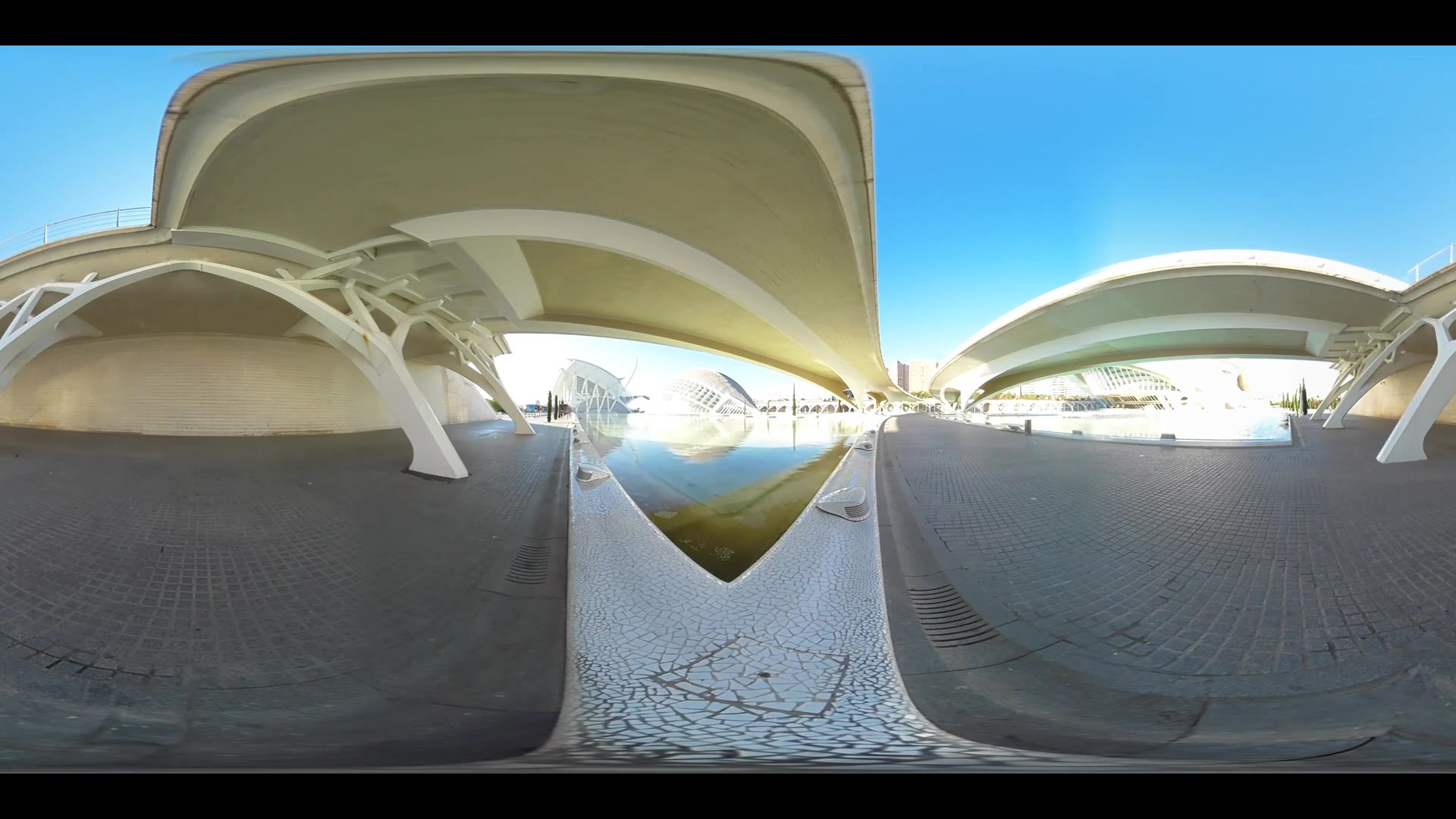 Virtual Reality 360 view from the Berklee College of Music in Valencia Spain