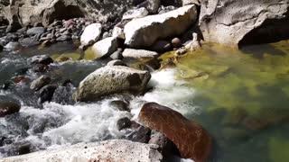 Water stream in the Ca̱�_n de Somoto in Nicaragua