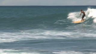 Wave surfing Longboard
