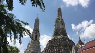 Wide angle from the Wat Arun Temple of Dawn