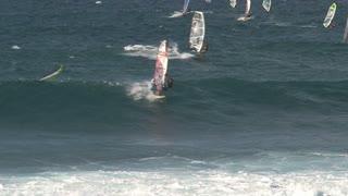 Windsurfing in Maui, Hawaii