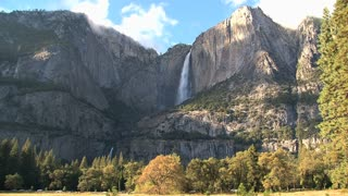 Yosemite National Park tourism landscape
