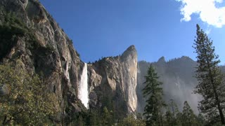 Yosemite National Park waterfall