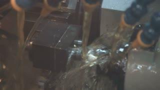 Manufacturing of precision metal parts using a CNC machine