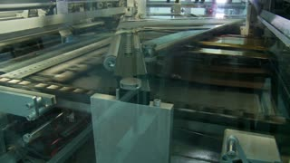 Offset printing press working at high speed