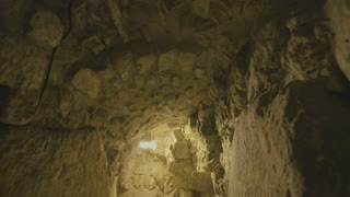 The western wall tunnels in old city Jerusalem