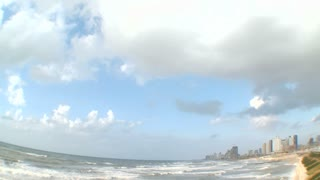 Time Lapse of Tel Aviv beach