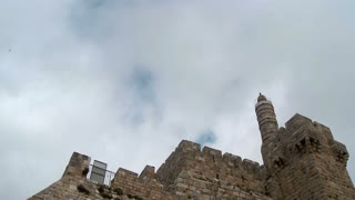 Tower of David in old Jerusalem