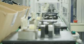 Automated Production line of parts for the automotive industry