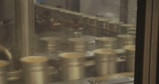 Canned food automated production line