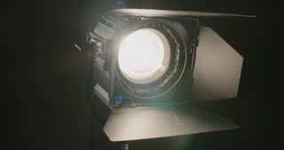 Film light turning on