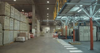 Large canned food warehouse
