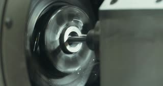 Precision grinding of metal parts