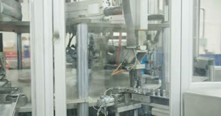 Production line of parts for the automotive industry
