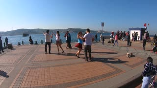 Dance in Bosphorus