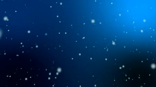 Snow Fall motion graphics