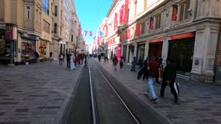 Walking InTaksim Istanbul
