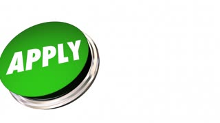 Apply Application Button Job Interview 3d Animation
