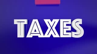 Avoid Taxes Loophole Pay Less Fees Deductions 3 D Animation