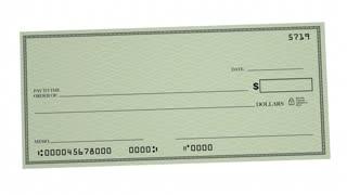 Balance Money Check Bank Account Budget 3d Animation