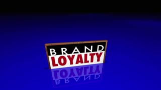Brand Loyalty Customers Preference Buying Products 3d Animation