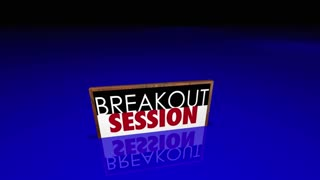 Breakout Session Conference Meeting People Signs 3 D Animation