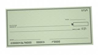 Debt Check Money Owed Defecit Bankrupt Word 3d Animation