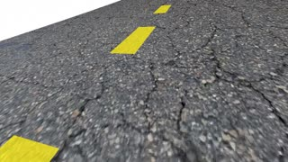 Debt Free Road Out Of Bankruptcy Improve Finances 3 D Animation