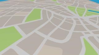 Destination Travel Spot End Location Map Pin 3 D Animation