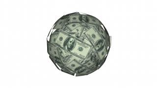 Earn Money Income Work Career Job Cash Ball Sphere