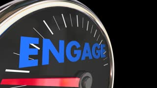 Engagement Speedometer Increase Improve Interaction 3d Animation